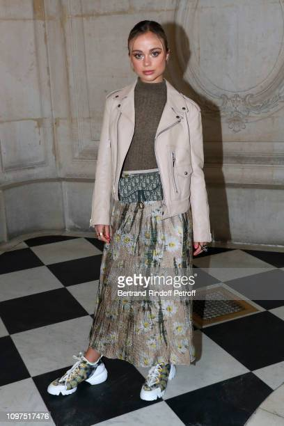 Amelia Windsor attends the Christian Dior Haute Couture Spring Summer 2019 show as part of Paris Fashion Week on January 21 2019 in Paris France