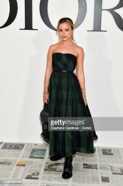 Amelia Windsor attends the Dior show as part of the Paris Fashion Week Womenswear Fall/Winter 2020/2021 on February 25 2020 in Paris France