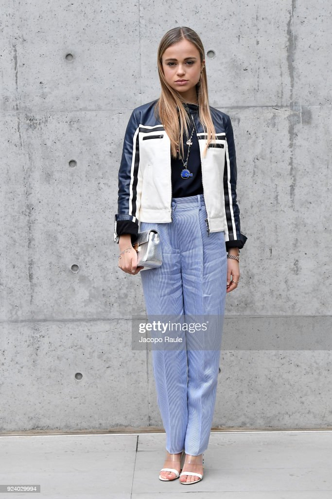 Emporio Armani - Front Row - Milan Fashion Week Fall/Winter 2018/19