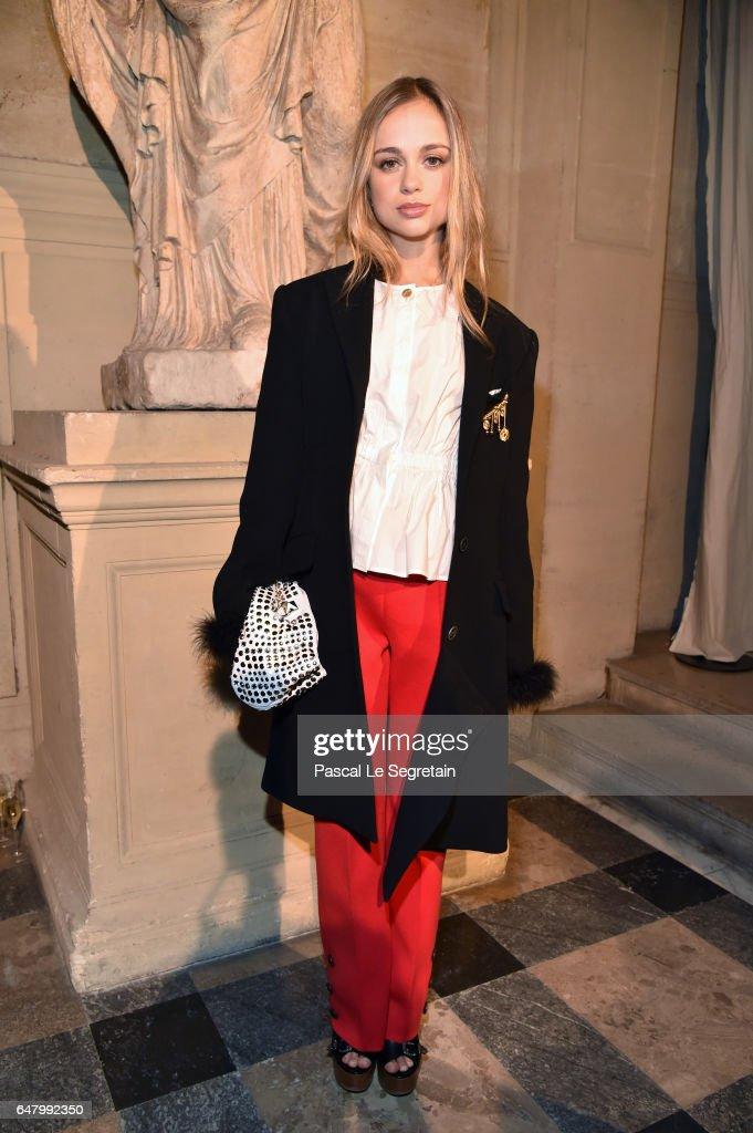Sonia Rykiel: Front Row  - Paris Fashion Week Womenswear Fall/Winter 2017/2018