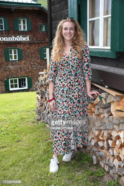 Amelie Bagusat daughter of Stefanie Graefin von Pfuel during the first Ladies Day and start of the Queens Club hosted by Maria HoeflRiesch on June 26...