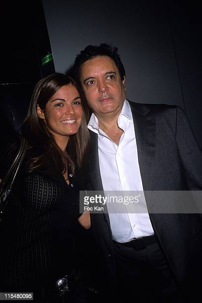 Amelie Bitoun and Edouard Nahum during Edouard Nahum's Birthday Party at the VIP Room in St Tropez March 8 2007 at VIP Room in St Tropez France
