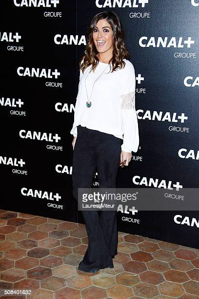 Amelie Bitoun attends the 'Canal Animators' Party At Manko on February 3 2016 in Paris France
