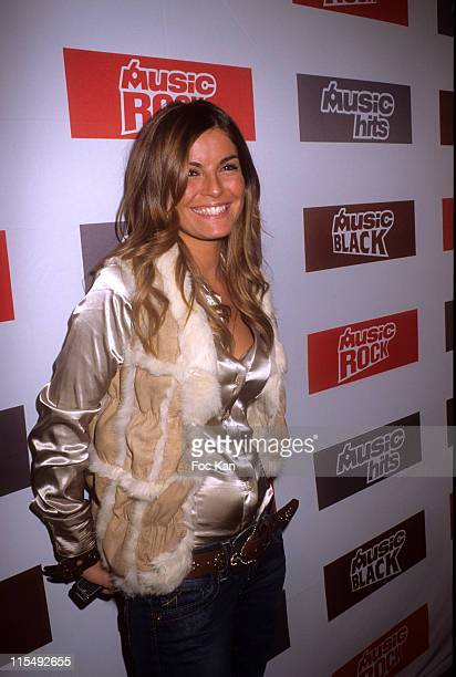 Amelie Bitoun attends the M6 Music Party at the Ritz Club on December 10 2007 in Paris France
