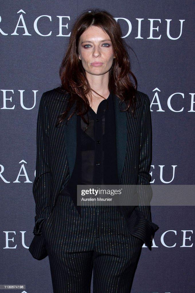 """FRA: """"Grace A Dieu"""" Paris Premiere At MK2 Bibliotheque"""