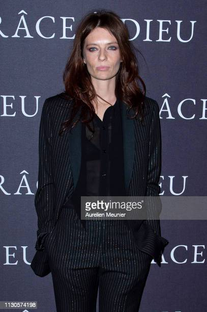Amelie Daure attends the 'Grace A Dieu' Premiere at Mk2 Bibliotheque on February 18 2019 in Paris France