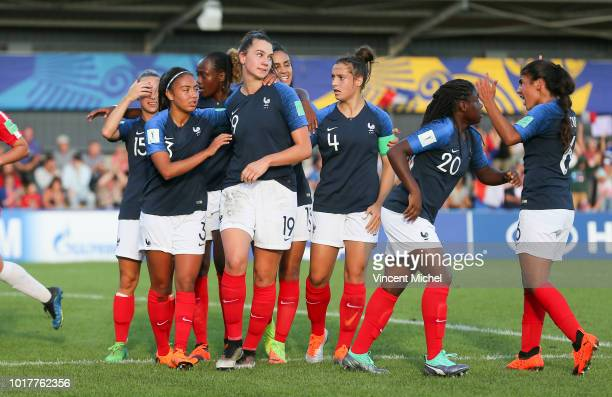 Sandy Baltimore of France during the Quater Final Women's World Cup U20 match between France and Korea DPR on August 16 2018 in Concarneau France