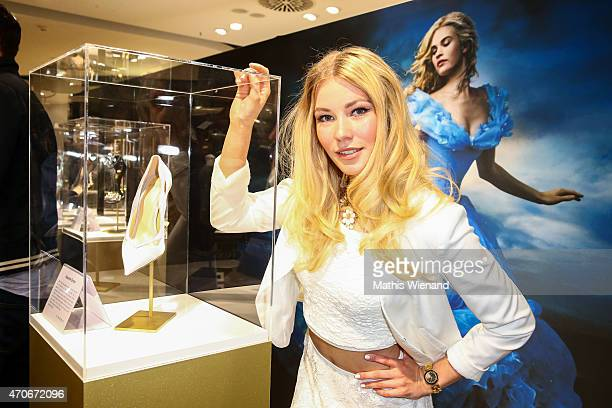Amelie Klever attends the Cinderella Exhibition presented by Breuninger Duesseldorf on April 22 2015 in Duesseldorf Germany