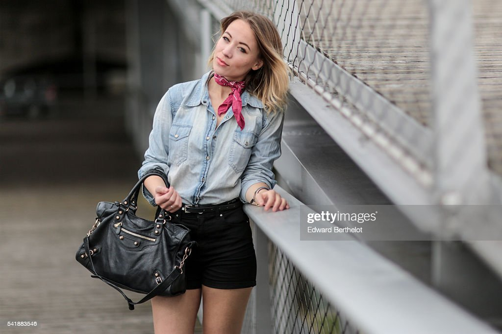Street Style - Paris - June 2016 : News Photo