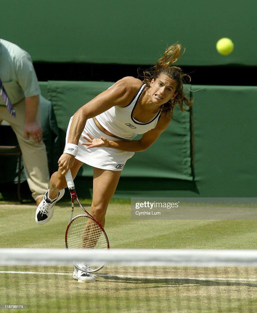 2005 Wimbledon Championships - Ladies' Singles - Quarter Finals - Amelie
