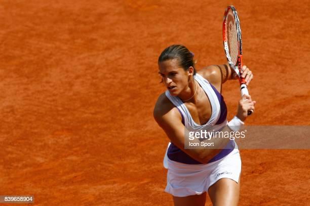 Amelie MAURESMO / Nathalie DECHY Roland Garros 2007 Jour 5
