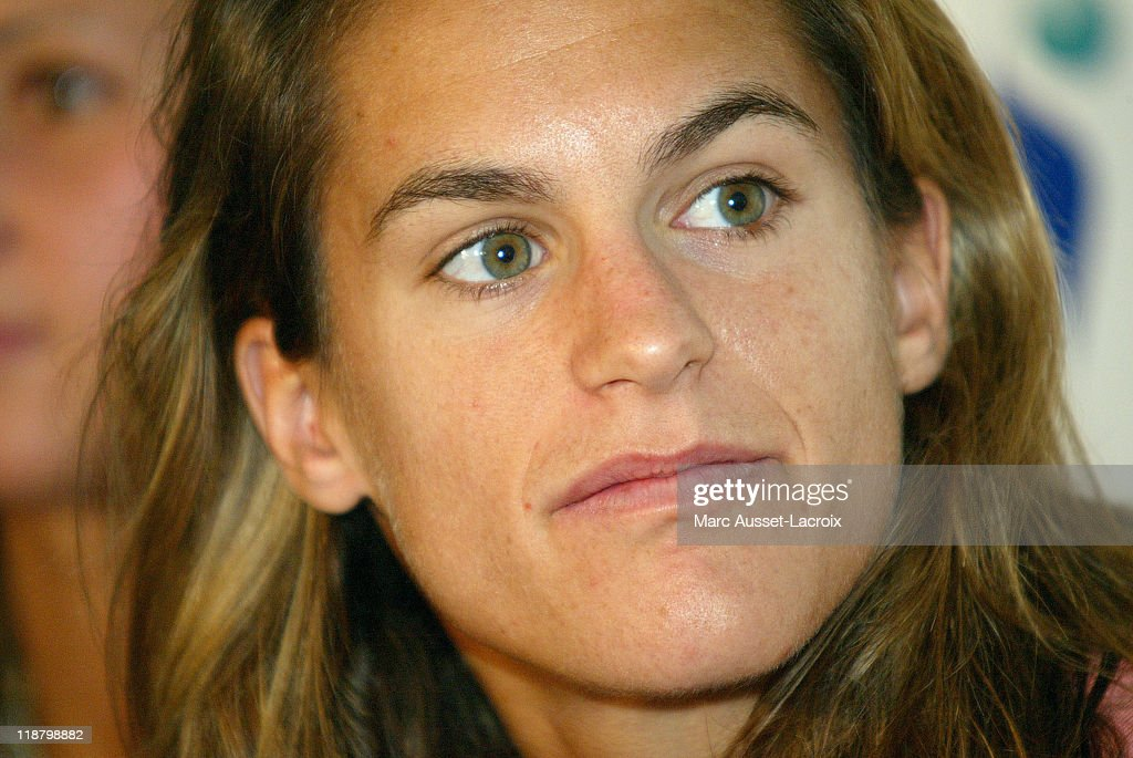 Women's Tennis - Amelie Mauresmo's First Press Conference Since Winning the