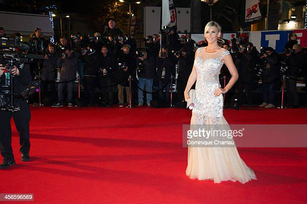 Amelie Neten arrives at the 15th NRJ Music Awards at Palais des Festivals on December 14 2013 in Cannes France