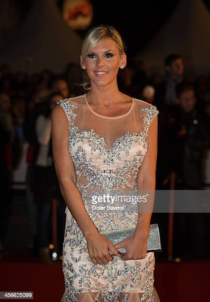 Amelie Neten attends the 15th NRJ Music Awards at Palais des Festivals on December 14 2013 in Cannes France