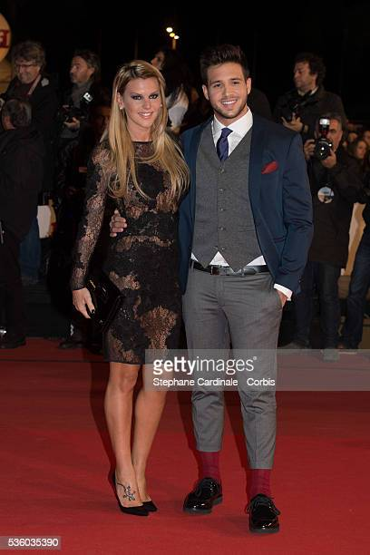 Amelie Neten attends the '16th NRJ Music Awards 2014' ceremony at Palais des Festivals on December 13 2014 in Cannes France