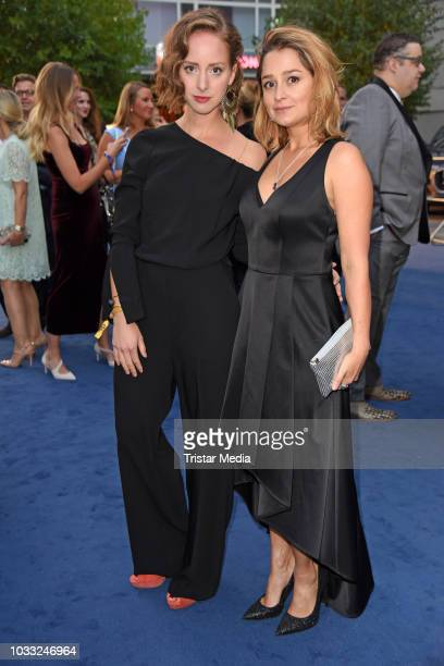 Amelie PlaasLink and Sarah Alles attend the Deutscher Schauspielpreis 2018 at Zoo Palast on September 14 2018 in Berlin Germany