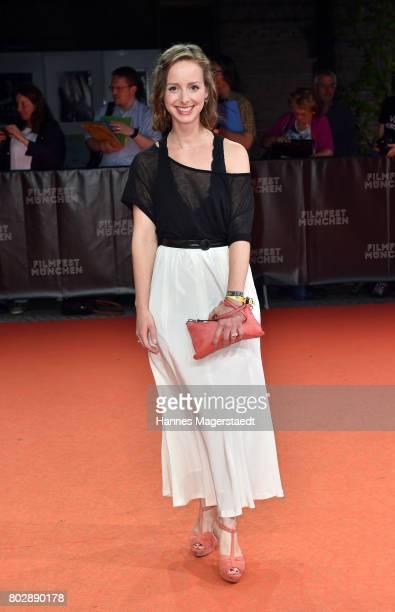 Amelie Plaas-Link attend the 'Berlin Fallen' Premiere during Munich Film Festival 2017 at Gasteig on June 28, 2017 in Munich, Germany.