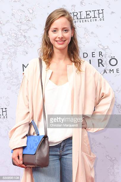 Amelie PlaasLink attends the movie premiere of 'Vor der Morgenroete Bevore Dawn' at Delphi Palace on May 30 2016 in Berlin Germany