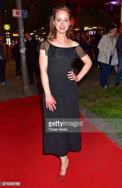 Amelie PlaasLink attends the New Faces Award Film at Haus Ungarn on April 27 2017 in Berlin Germany