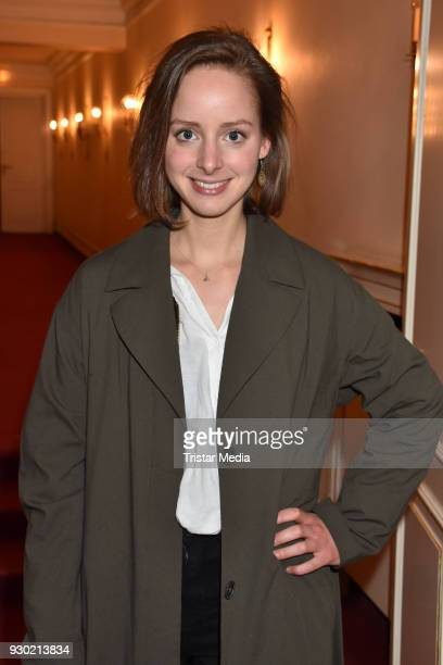 Amelie PlaasLink attends the premiere 'Der Entertainer' on March 10 2018 in Berlin Germany
