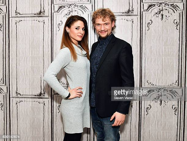 Amelie van Tass and Thommy Ten of The Clairvoyants visit AOL BUILD to discuss their part in the ÒAmericaÕs Got Talent Holiday SpectacularÓÊat AOL HQ...
