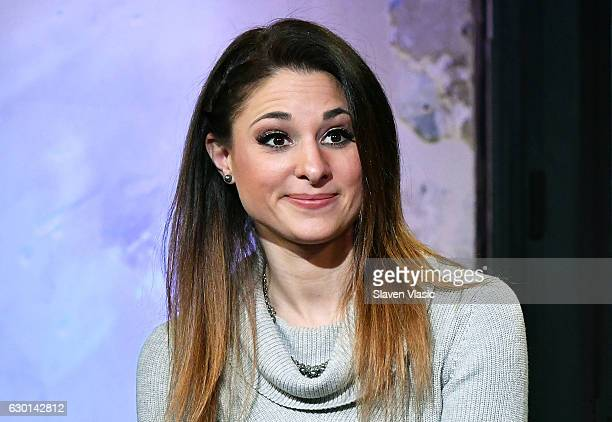 Amelie van Tass of The Clairvoyants visits AOL BUILD to discuss their part in the ÒAmericaÕs Got Talent Holiday SpectacularÓÊat AOL HQ on December 16...