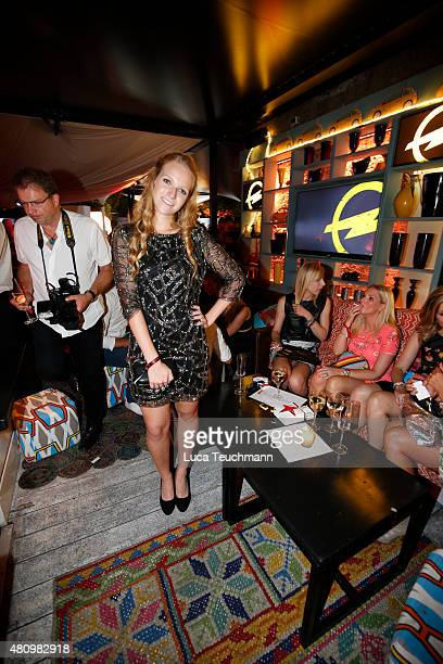 Amelie von Pfuel attends the New Faces Award Fashion 2015 on July 16 2015 in Munich Germany
