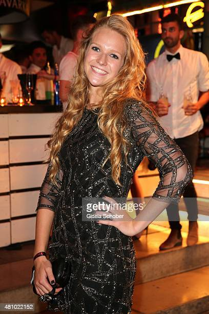 Amelie von Pfuel daughter of Stephanie von Pfuel during the New Faces Award Fashion 2015 on July 16 2015 at P1 in Munich Germany