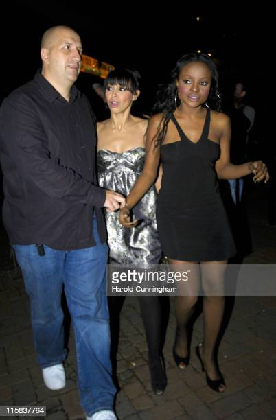 Amelle Berrabah and Keisha Buchanan during Sugababes in Concert - October 29, 2006 - Arrivals at Dominion Theatre in London, Great Britain.