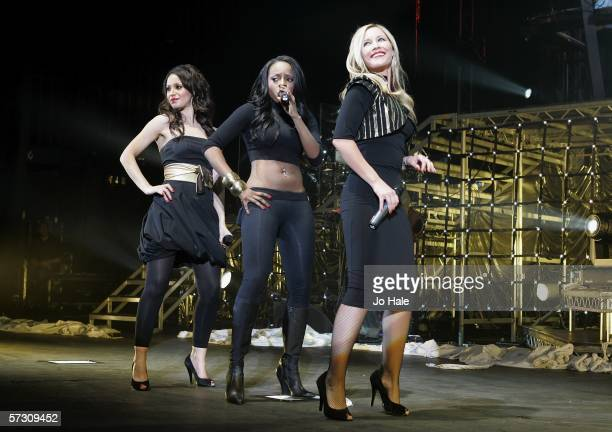Amelle Berrabah Keisha Buchanan Heidi Range of the Sugababes play the final date of their UK tour plugging their latest album 'Taller In More Ways'...