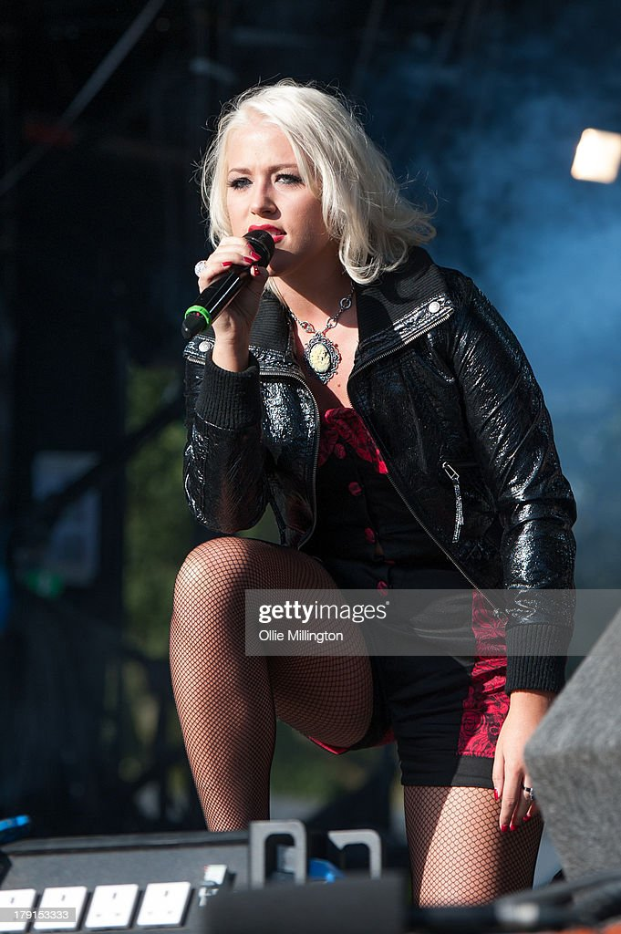 Amellia Lilly performs on stage on Day 1 of Fusion Festival 2013 at Cofton Park on August 31, 2013 in Birmingham, England.
