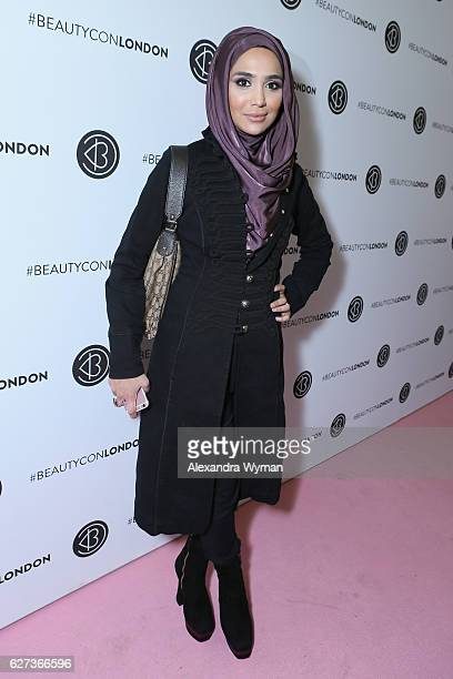 Amena attends Beautycon Festival London 2016 at Olympia London on December 3 2016 in London England