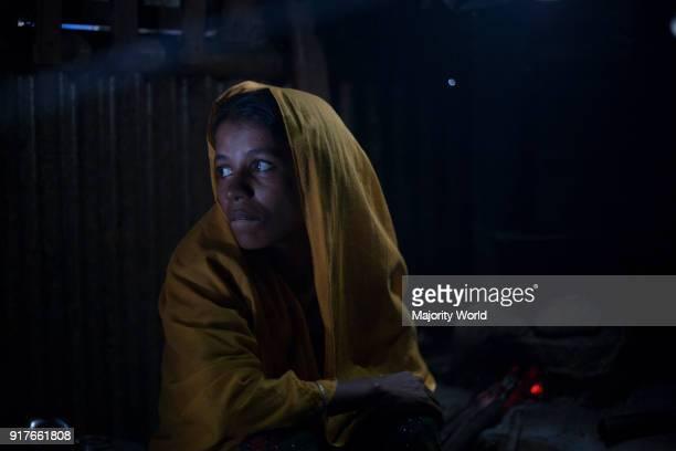 Amena her husband killed by army and she has been raped in leda camp teknaf