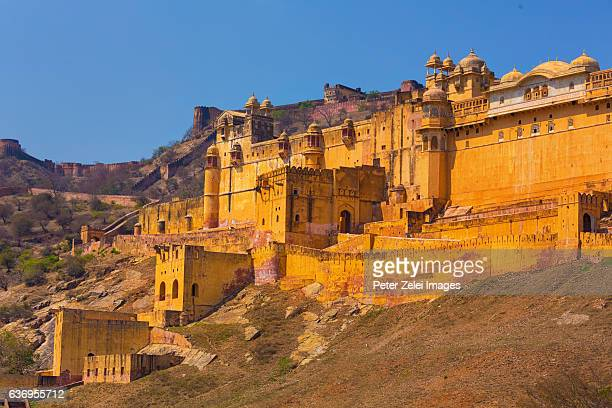 Amer Fort / Amber Fort  at Amber near Jaipur, Rajasthan, India