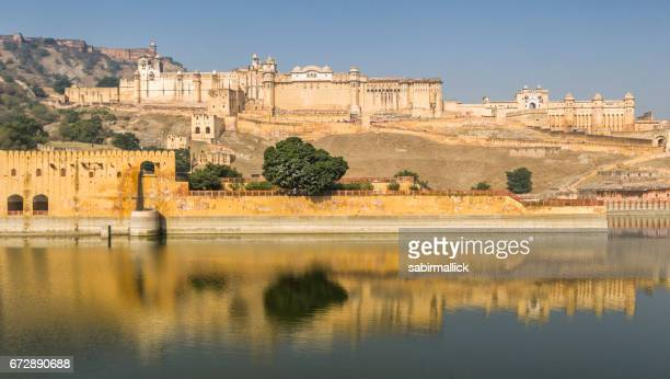amer fort, rajasthan. - amber fort stock pictures, royalty-free photos & images