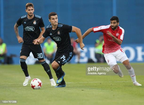 Amer Gojak of Dinamo Zagreb in action during UEFA Champions League 2nd Qualifying Round first leg match between Dinamo Zagreb and Hapoel Beer Sheva...