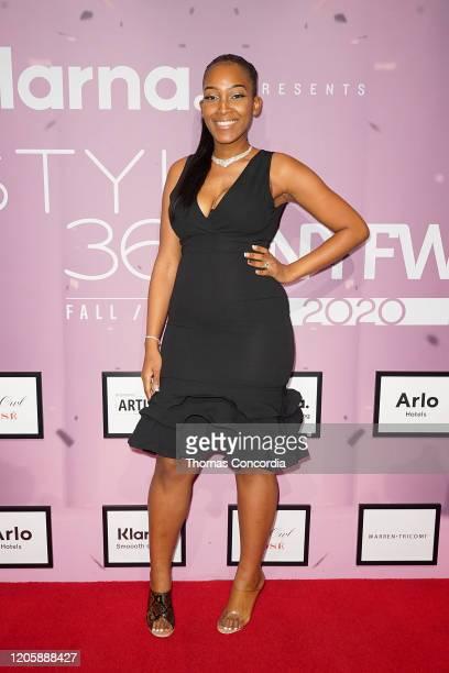 Amera Willis attends Klarna STYLE360 Hosts Andy Hilfiger Presents Artistix By Greg Polisseni Presentation/See Shop on February 12 2020 in New York...