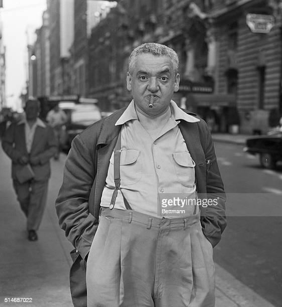 Amercian photographer Author 'Weegee' Fellig