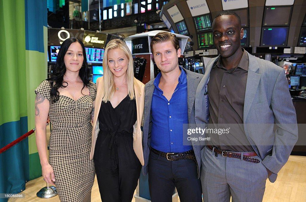 "BBC's ""Copper"" Cast Visit The New York Stock Exchange"