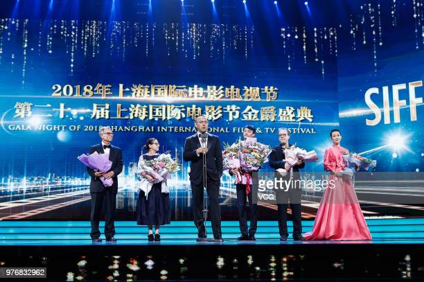 Amerian fim producer David Permut Hungarian director Ildiko Enyedi Chinese director Jiang Wen Taiwanese actor Chang Chen Turkish director Semih...