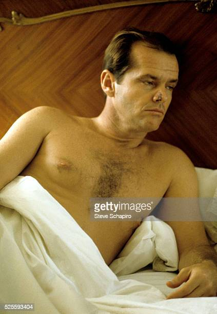 Jack Nicholson in a scene from the film Chinatown