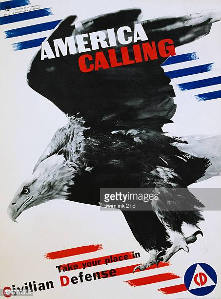 America Calling Poster by Herbert Matter