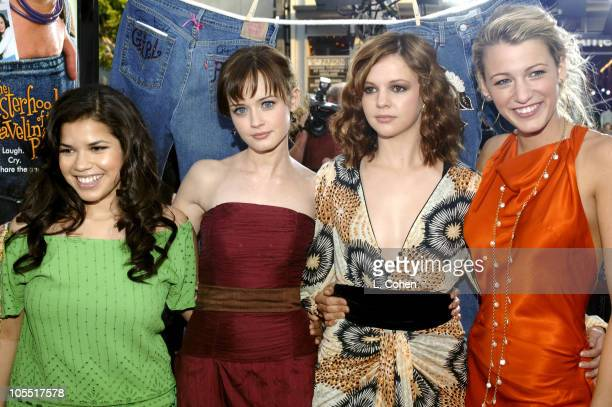 America Ferrera, Alexis Bledel, Amber Tamblyn and Blake Lively