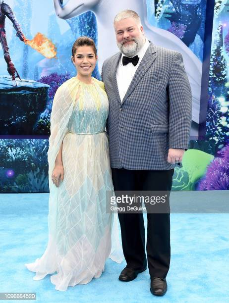 """America Ferrera and director Dean DeBlois arrive at Universal Pictures And DreamWorks Animation Premiere Of """"How To Train Your Dragon: The Hidden..."""