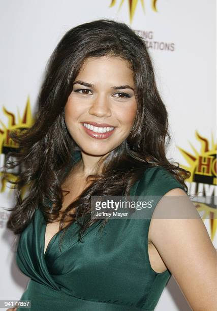 America Ferrera arrives the The 3rd Annual Hot In Hollywood Event at The Avalon on August 16 2008 in Hollywood California