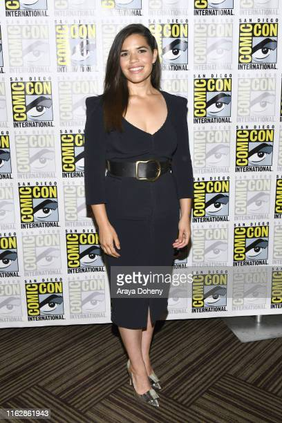 America Ferrera at the press line for Superstore at 2019 ComicCon International Day 1 on July 18 2019 in San Diego California