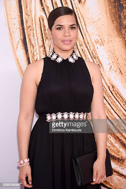 America Ferrera attends the 2016 CFDA Fashion Awards at the Hammerstein Ballroom on June 6, 2016 in New York City.