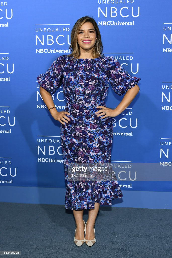 America Ferrera attends the 2017 NBCUniversal Upfront at Radio City Music Hall on May 15, 2017 in New York City.