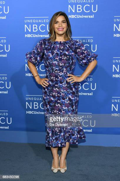 America Ferrera attends the 2017 NBCUniversal Upfront at Radio City Music Hall on May 15 2017 in New York City