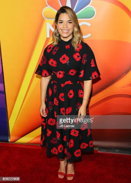 America Ferrera attends the 2017 Summer TCA Tour 'NBCUniversal Press Tour' on August 03 2017 in Los Angeles California